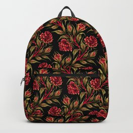Rose - Red / Green Backpack