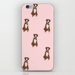 Boxer Dogs are BFFs iPhone Skin