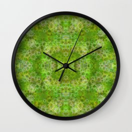 Lonely Tree in Summer Wall Clock