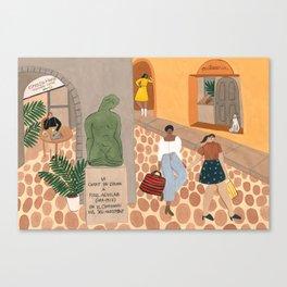 Girona Canvas Print