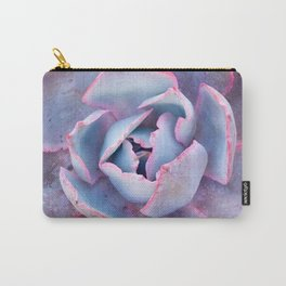 Laced with Pink Carry-All Pouch