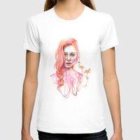 flamingo T-shirts featuring Flamingo by Veronika Weroni Vajdová