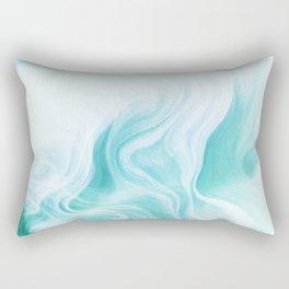 Marble sandstone - ice Rectangular Pillow
