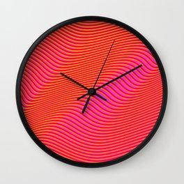 Fancy Curves Wall Clock