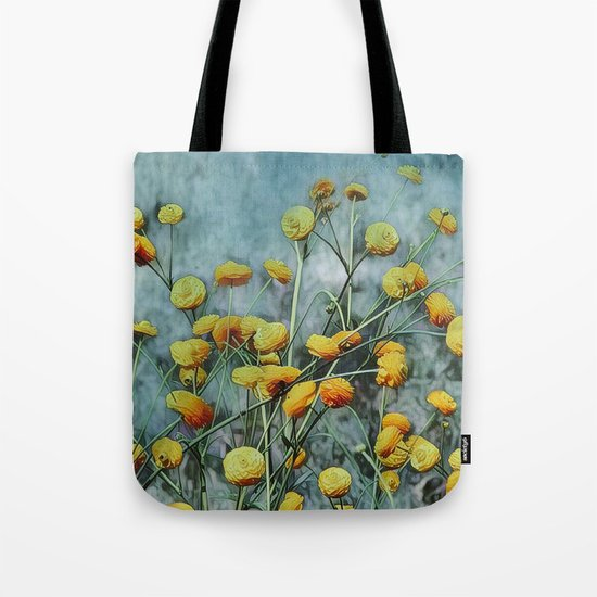 Summers Yellow Tote Bag
