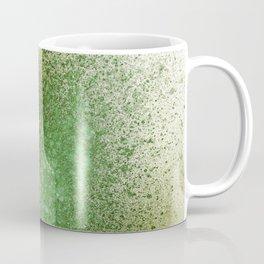 Olive Green Paint Splatter Coffee Mug