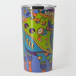 Bison, cool wall art for kids and adults alike Travel Mug