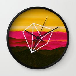 very beggining kate Wall Clock