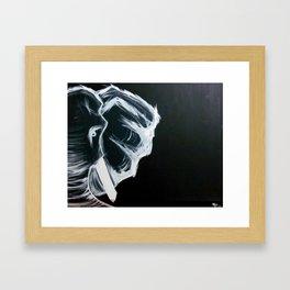 Ndlovu (elephant) Framed Art Print