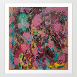 Why do baby girls must wear pink? Art Print