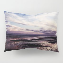 Blue Skies and Lavender Goodbyes Pillow Sham