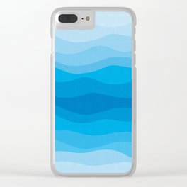 Abstract and geometric landscape 09 Clear iPhone Case