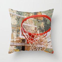 Basketball vs 30 Throw Pillow