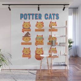 Harry Cats Wall Mural