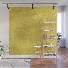 Simply Metallic in Yellow Gold Wall Mural