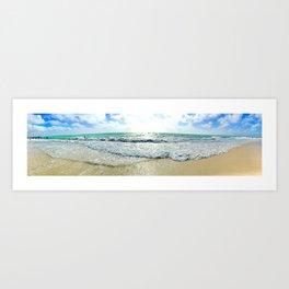 Ocean View From An Island Art Print