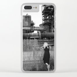 Hoping Fences Clear iPhone Case