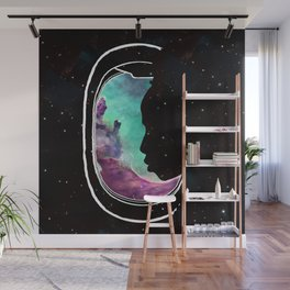 People of the Universe-Multiverse Commuter-Turquoise Wall Mural