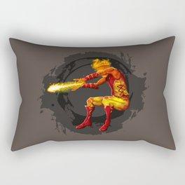 Mythical Fire Elemental Rectangular Pillow