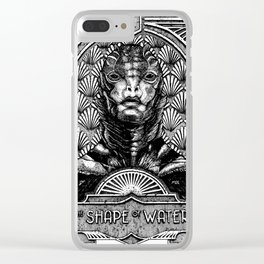 The Shape of Water Clear iPhone Case