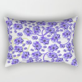 Purple Passion Rectangular Pillow
