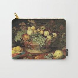 Balthasar Van Der Ast - Still Life With Basket Of Fruit1622 Carry-All Pouch