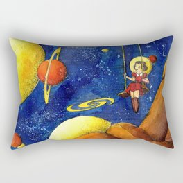 Space swing Rectangular Pillow