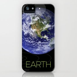 Solar System and Beyond: Earth iPhone Case