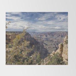 Grand Canyon No. 7 Throw Blanket