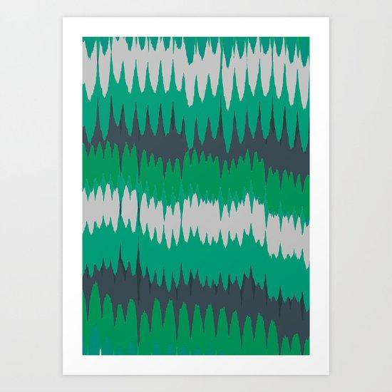 GRN Art Print