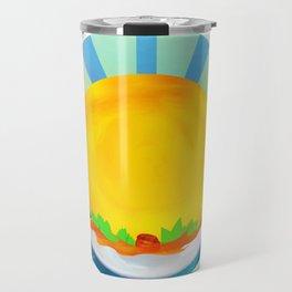 Wheel Series : Summer Solstice Medallion Travel Mug