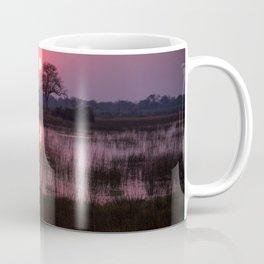 Botswana Africa Sunset over a Marsh Coffee Mug