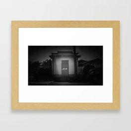 The Christchurch Electricity Substation Project XXX Framed Art Print