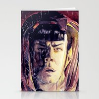 spock Stationery Cards featuring Spock  by margaw