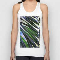 palm Tank Tops featuring palm by  Agostino Lo Coco