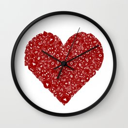 Dice Love Wall Clock