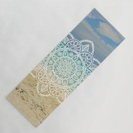 Beach Mandala Yoga Mat