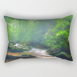 Summer Fantasy Rectangular Pillow