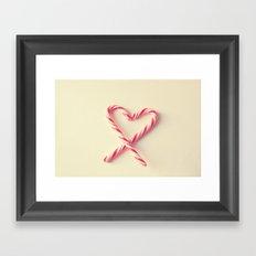 Candy Kiss Framed Art Print