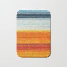 Yellowstone Orange Bath Mat