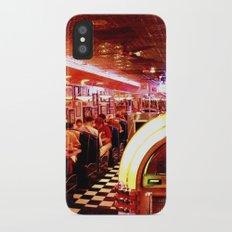 Mel's Diner iPhone X Slim Case