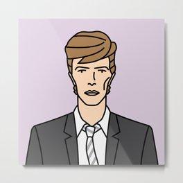 David Bowie – Boys Keep Swinging Metal Print