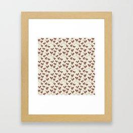 A Cranky Flock Framed Art Print