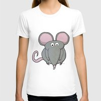 mouse T-shirts featuring Mouse by Rafael Martinez