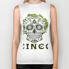 Cinco Green Biker Tank