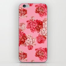 hydrangea (doubled) iPhone & iPod Skin