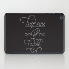 highness of hustle iPad Case