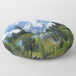 Mt. Shuksan Floor Pillow