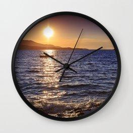 boatman Wall Clock
