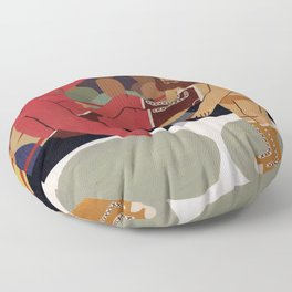 Fight Floor Pillow